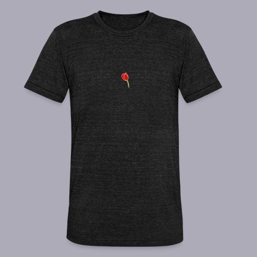 Tulip Logo Design - Unisex Tri-Blend T-Shirt by Bella & Canvas