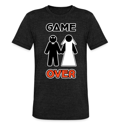 Addio al Celibato - Game Over - Maglietta unisex tri-blend di Bella + Canvas
