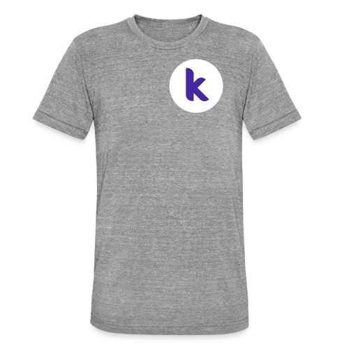 Classic Rounded Inverted - Unisex Tri-Blend T-Shirt by Bella + Canvas