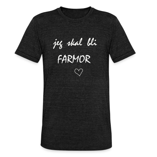 Farmor Collection - Unisex tri-blend T-skjorte fra Bella + Canvas