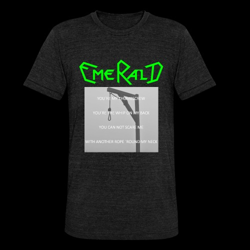 Emerald - Unisex Tri-Blend T-Shirt von Bella + Canvas