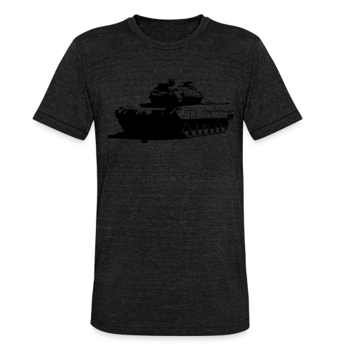 Leopard 2 Kampfpanzer - Stridsvagn 122 - Triblend-T-shirt unisex från Bella + Canvas