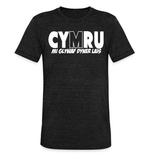 Mi Glywaf Dyner Lais - Unisex Tri-Blend T-Shirt by Bella & Canvas