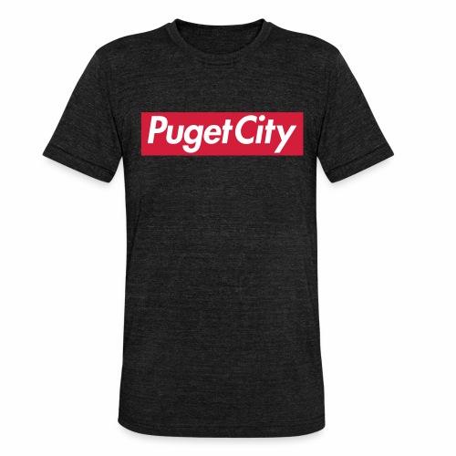 PugetCity - T-shirt chiné Bella + Canvas Unisexe