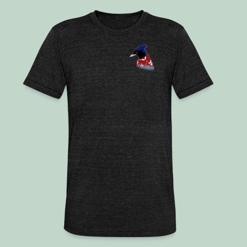 Surfer bird - Unisex Tri-Blend T-Shirt by Bella & Canvas