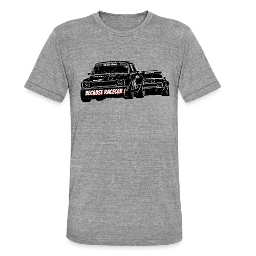 Racecar - T-shirt chiné Bella + Canvas Unisexe