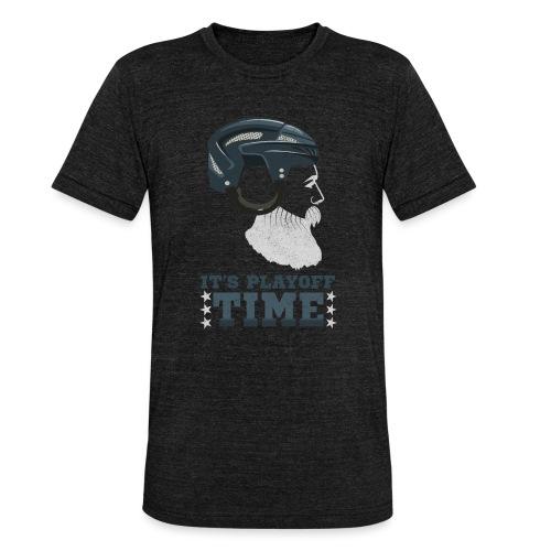 Lustiges Cooles Eishockey Geschenk Eishockeyspiele - Unisex Tri-Blend T-Shirt von Bella + Canvas