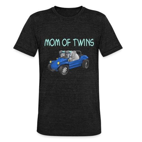 mom of twins - Unisex Tri-Blend T-Shirt von Bella + Canvas