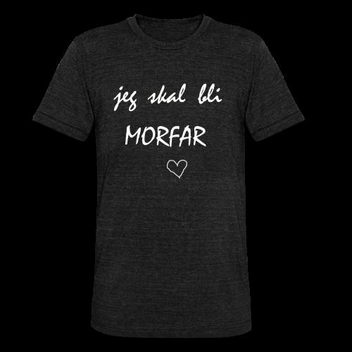 Morfar Collection - Unisex tri-blend T-skjorte fra Bella + Canvas