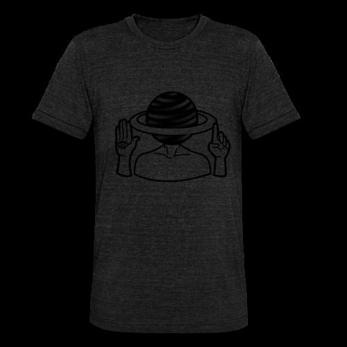 Saturne Dans La Tête - T-shirt chiné Bella + Canvas Unisexe
