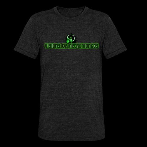 Necromongo Logo ONE - Unisex Tri-Blend T-Shirt von Bella + Canvas