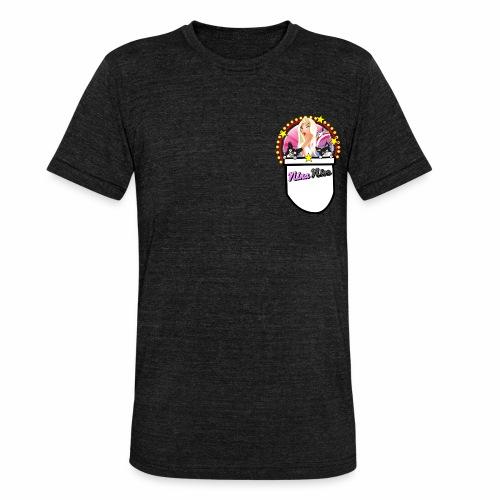 Nina Nice Pocket - Unisex Tri-Blend T-Shirt von Bella + Canvas
