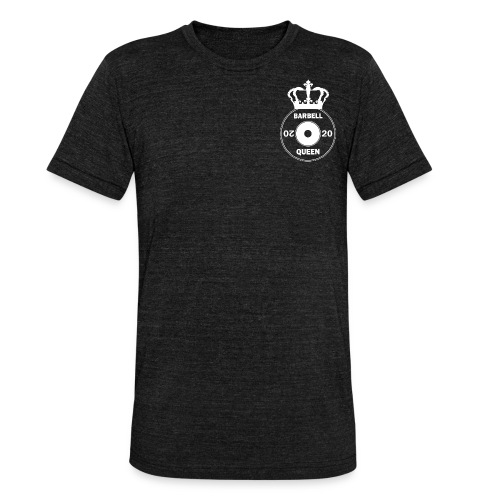 The Barbell Queen - Unisex Tri-Blend T-Shirt by Bella & Canvas