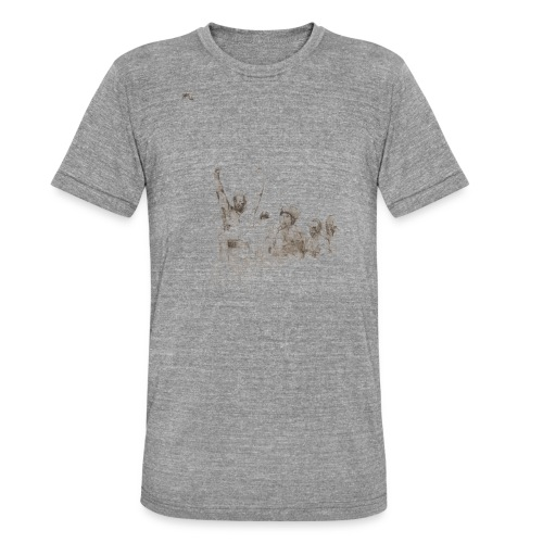 Jorge Forman - T-shirt chiné Bella + Canvas Unisexe