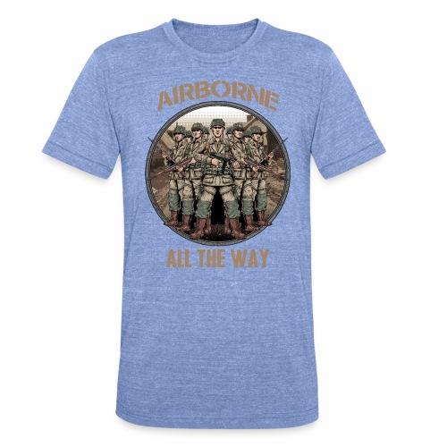 Airborne - Tout le chemin - T-shirt chiné Bella + Canvas Unisexe