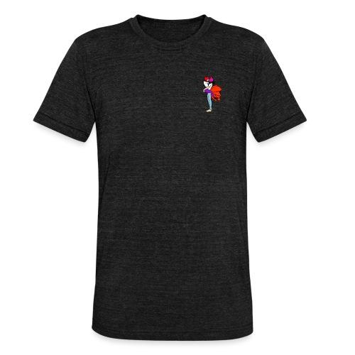 panda and fox - Unisex tri-blend T-shirt fra Bella + Canvas