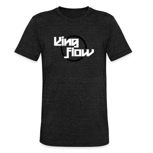 King Flow - Camiseta Tri-Blend unisex de Bella + Canvas