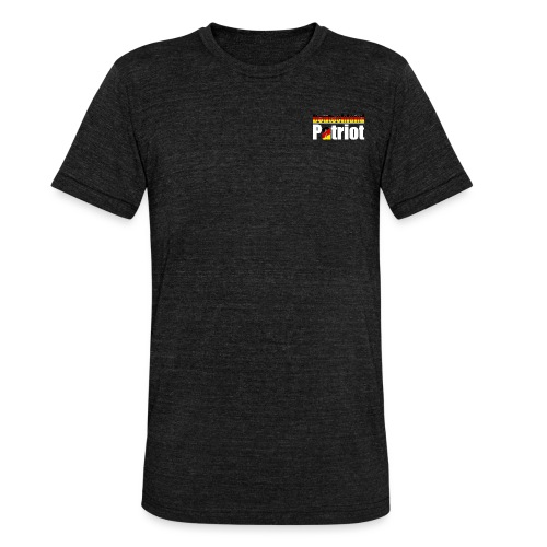 Deutschland - Patriot - Unisex Tri-Blend T-Shirt von Bella + Canvas