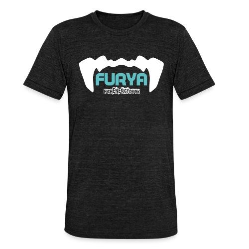Logo Furya - T-shirt chiné Bella + Canvas Unisexe