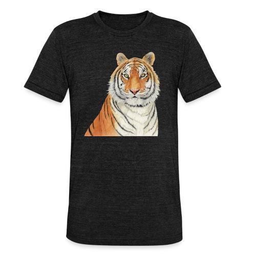 Tigre,Tiger,Wildlife,Natura,Felino - Maglietta unisex tri-blend di Bella + Canvas