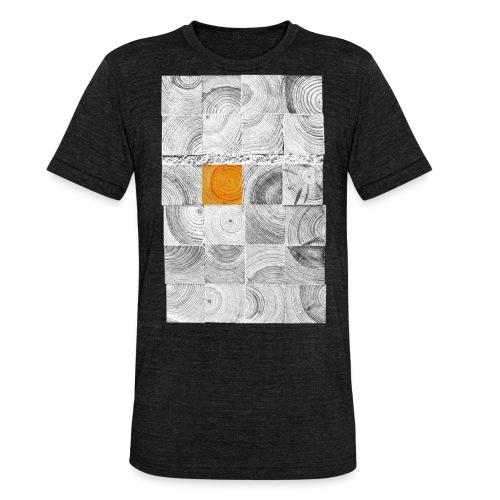 Cubes de Bois - T-shirt chiné Bella + Canvas Unisexe