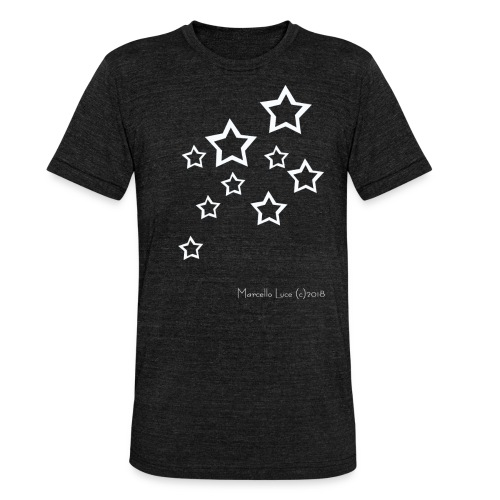 Streetworker Art by Marcello Luce 2018 - Stars - Unisex Tri-Blend T-Shirt von Bella + Canvas