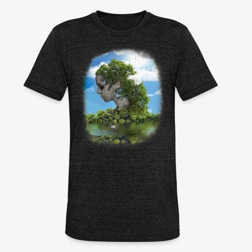 Land of Id - Triblend-T-shirt unisex från Bella + Canvas