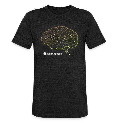 webknossos-brain - Unisex Tri-Blend T-Shirt von Bella + Canvas