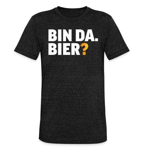 Lustig Bier Party Saufen Alkohol Geschenk - Unisex Tri-Blend T-Shirt von Bella + Canvas