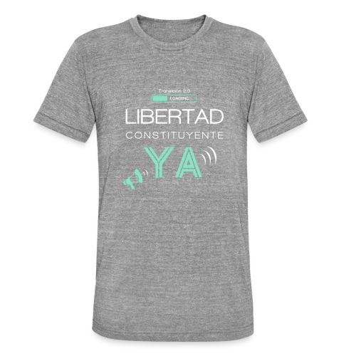 Libertad Constituyente ¡YA! - Camiseta Tri-Blend unisex de Bella + Canvas