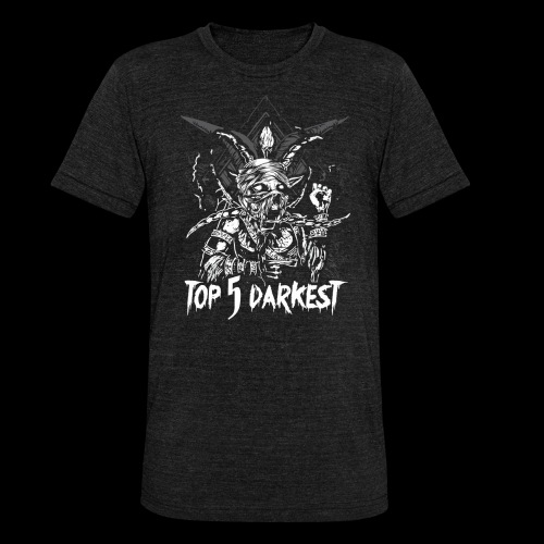Top 5 Darkest - Unisex Tri-Blend T-Shirt by Bella & Canvas