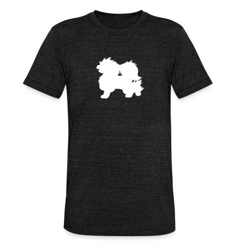 All white Arcanine Merch - T-shirt chiné Bella + Canvas Unisexe