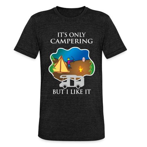 To tylko campering, ale to lubię - Koszulka Bella + Canvas triblend – typu unisex
