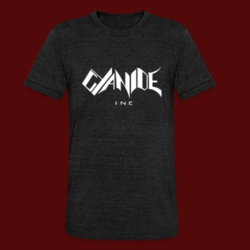 Logo Cyanide Inc - T-shirt chiné Bella + Canvas Unisexe