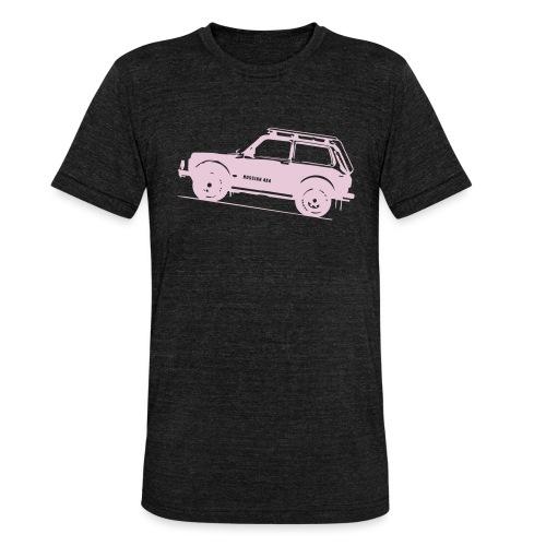 Lada Niva 2121 Russin 4x4 - Unisex Tri-Blend T-Shirt von Bella + Canvas
