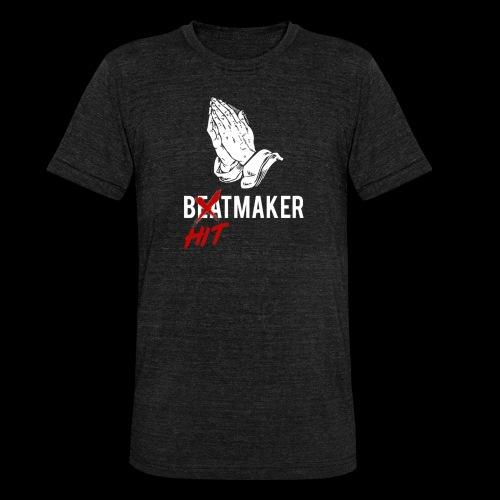 HitMaker Blanc - T-shirt chiné Bella + Canvas Unisexe