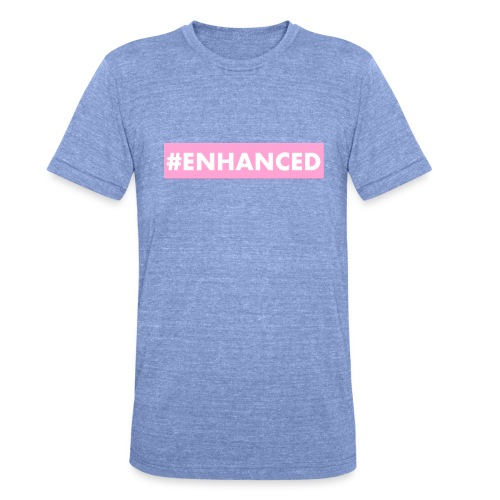 ENHANCED BOX - Unisex Tri-Blend T-Shirt by Bella & Canvas