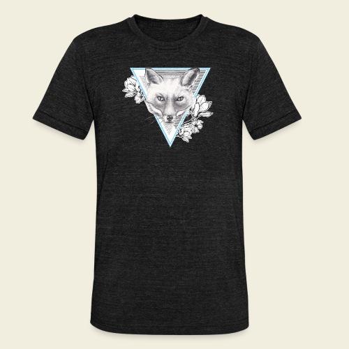 Frühlings-Fuchs - Unisex Tri-Blend T-Shirt von Bella + Canvas