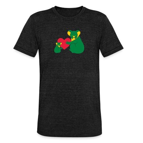 Koala Heart Baby - Unisex Tri-Blend T-Shirt by Bella & Canvas