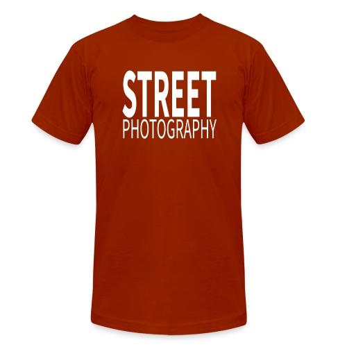 Street Photography T Shirt - Maglietta unisex tri-blend di Bella + Canvas