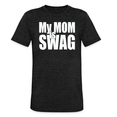 Swag White - Unisex tri-blend T-shirt van Bella + Canvas