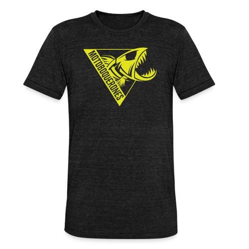 Logo Motoboquerones amarillo - Camiseta Tri-Blend unisex de Bella + Canvas