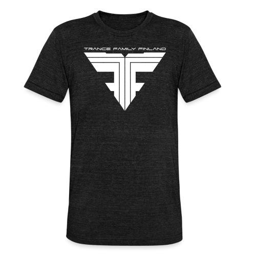 TFF Logo White - Bella + Canvasin unisex Tri-Blend t-paita.
