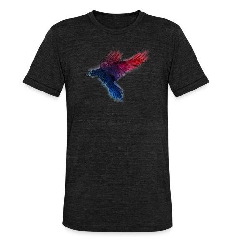 Watercolor Raven - Unisex Tri-Blend T-Shirt von Bella + Canvas