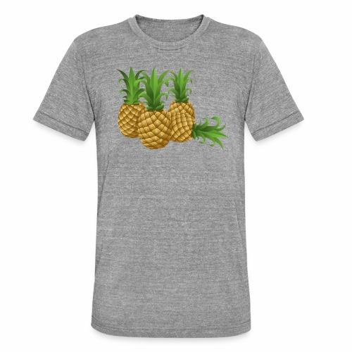 Ananas - Unisex Tri-Blend T-Shirt von Bella + Canvas