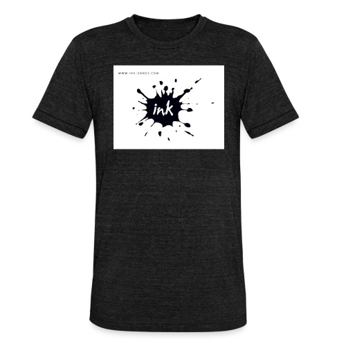 Ink Logo and website - Unisex Tri-Blend T-Shirt by Bella & Canvas
