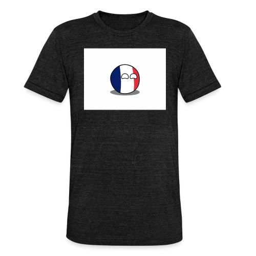 France Simple - T-shirt chiné Bella + Canvas Unisexe