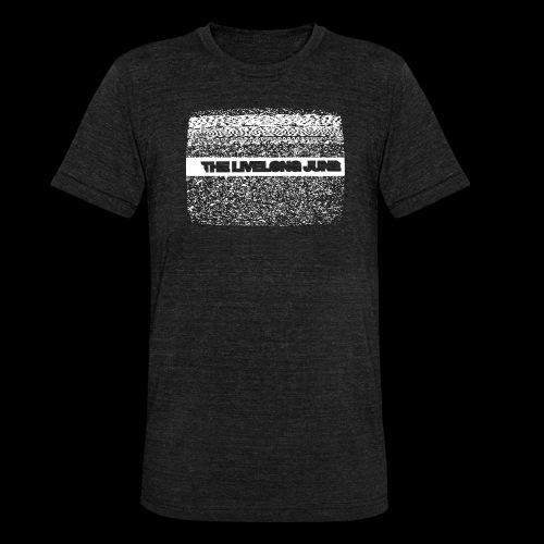 The Livelong June - Logo on white noise - Triblend-T-shirt unisex från Bella + Canvas