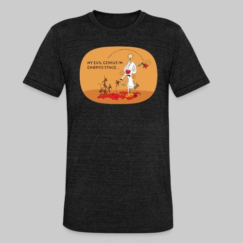 VJocys Evil - Unisex Tri-Blend T-Shirt by Bella & Canvas