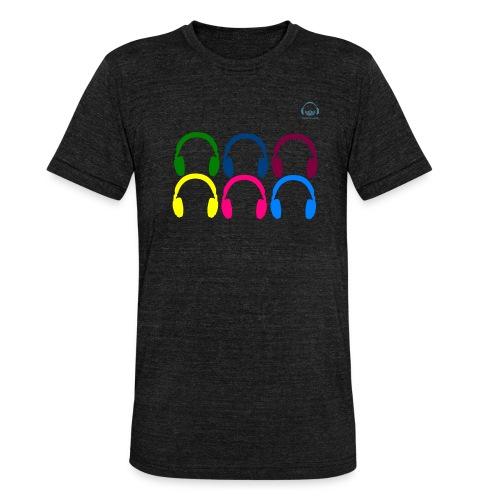 Headphones Tarifa - Camiseta Tri-Blend unisex de Bella + Canvas